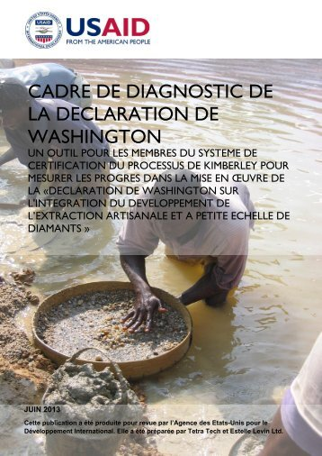cadre de diagnostic de la declaration de washington - Land Tenure ...