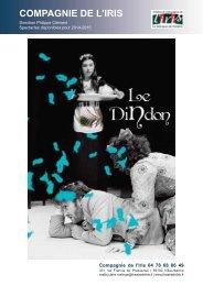 Télécharger le dossier du spectacle - Théâtre de l'Iris