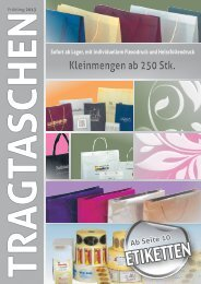 download PDF Flyer - Tragtaschen, Etiketten ...