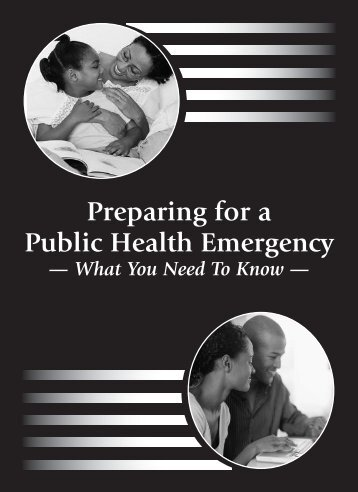 Preparing for a Public Health Emergency - State of Michigan