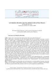 La Fondazione Borsalino: intervista a Roberto Gallo ed Elena ...