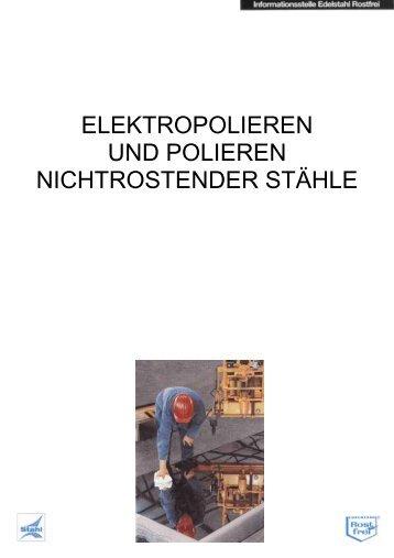 Elektropolieren von Edelstahl - Knobling