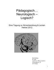 Rhythmus, Sprache und multimodales Lernen - vhl-be.ch