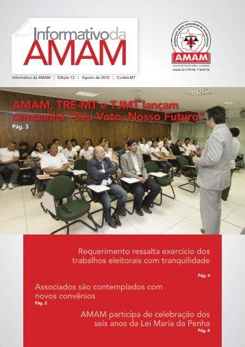 """AMAM, TRE-MT e TJMT lançam campanha """"Seu Voto, Nosso Futuro"""""""