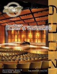 Jazz & Orchestra - January 30 Concert Bands - January 31 - WTSBOA!