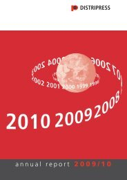 annual report 2009/10 - Distripress