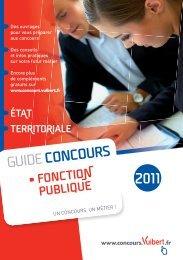Catalogue Concours / Formation 2011 - Vuibert