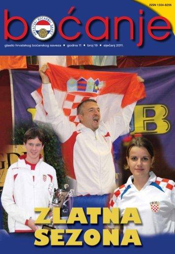 glasilo 19 - Hrvatski boćarski savez