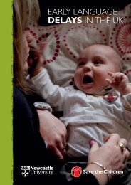 eArlY lAnGUAGe DELAYS in the UK - Murdoch Childrens Research ...