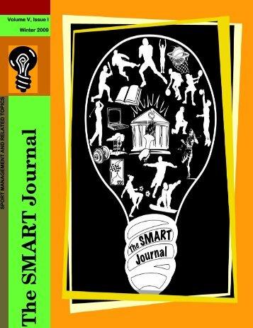 Volume V, Issue I - The SMART Journal