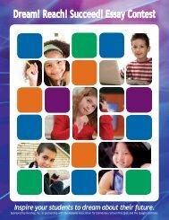 Dream Reach Succeed Essay Contest - National Association of ...