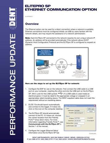 ESP Ethernet Details (pdf) - DENT Instruments