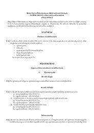 Makó Város Önkormányzat Képviselő-testületének 51/2011. (XII.15 ...