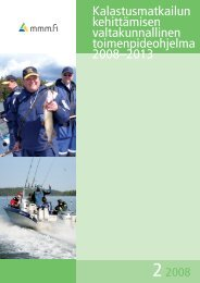 Kalastusmatkailun kehittämisen valtakunnallinen ...
