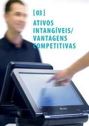 ATIVOS INTANGÍVEIS/ VANTAGENS COMPETITIVAS [ 03 ] - Itautec