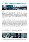 Das erste Produkt aus der neuen Anlage Unsere neue Anlage im ... - Seite 2