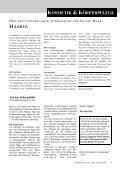 Sommer-Spezial: Sonnenbrand - Sun 21 - Schutz von Umwelt und ... - Seite 5
