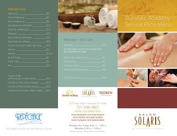 Nail Services - Sunstate Academy