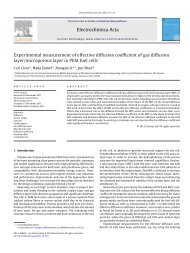 Experimental measurement of effective diffusion coefficient of ... - Nyx
