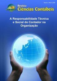 A Responsabilidade Técnica e Social do Contador na Organização