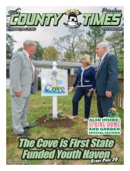 thursday,april 18, 2013 - County Times - Southern Maryland Online