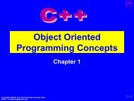 Object Oriented Programming Concepts - PHI Learning