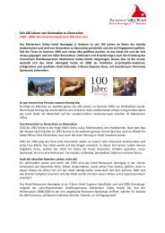 Geschichte des Hotels (PDF) - Matterhorn Valley Hotels