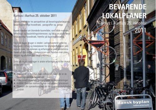 BEVARENDE LOKALPLANER - Dansk Byplanlaboratorium