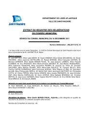 Délibération du 16 décembre 2011 : mise en ... - Saint-Nazaire