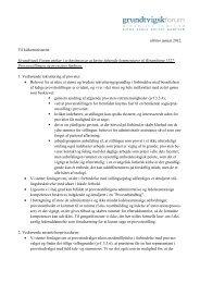 Referat fra styrelsesmødet i Løgumkloster, 25 - Grundtvig