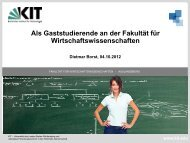 Foliensatz zum Download. - Fakultät für Wirtschaftswissenschaften ...
