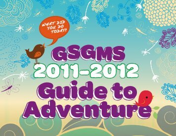 September 2011 - Girl Scouts of Greater Mississippi