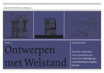 Ontwerpen met Welstand deel 1 - Architectuur Lokaal