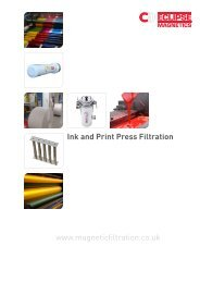 Ink and Press Magnetic Filtration pdf - Eclipse Magnetics
