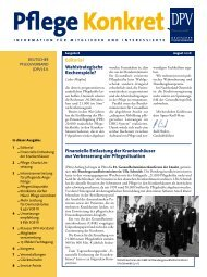 Wahlstrategische rechenspiele? editorial finanzielle ... - DPV