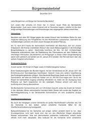 Der Bürgermeisterbrief zum Download ( 37 KB) - Bendestorf