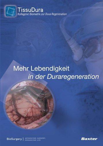 TissuDura Broschüre - BioSurgery