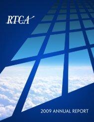 2009 Annual Report - RTCA