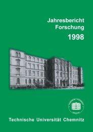 Jahresbericht Forschung