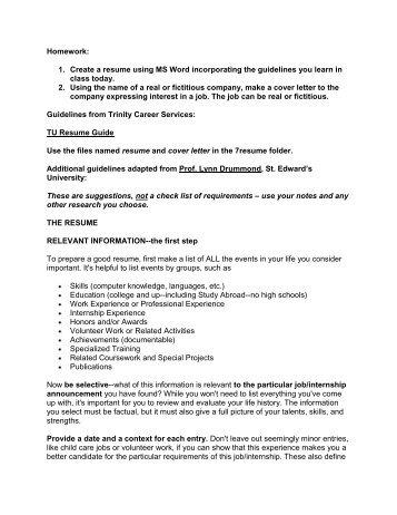 pdf resume sample