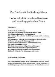 041 Zur Problematik der Studiengebühren, Teil 3 (August 2008) pdf