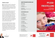 Pflegefreistellung - AK Burgenland - Arbeiterkammer