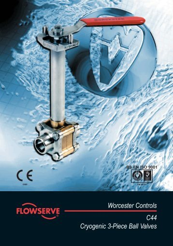 Worcester Controls C44 Cryogenic 3-Piece Ball Valves - Fagerberg