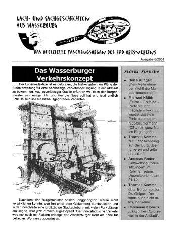 Faschingslupe 2001, Das Wasserburger ... - SPD-Wasserburg