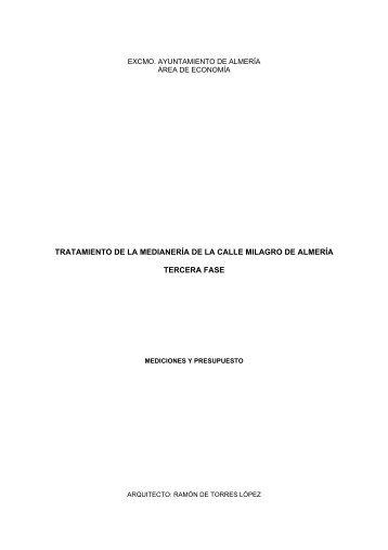 MCM Presupuesto FASE 3.pdf - Ayuntamiento de Almería