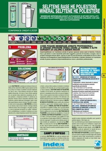 scheda tecnica - Index S.p.A.