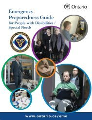 Emergency Preparedness Guide for People with Disabilities/Special
