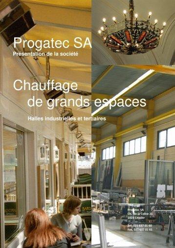 Portrait de Progatec SA