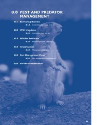 8.0 PEST AND PREDATOR MANAGEMENT - Agriculture and Rural ...
