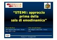 """""""STEMI: approccio i d ll """"STEMI: approccio i d ll prima della s l di di i ..."""
